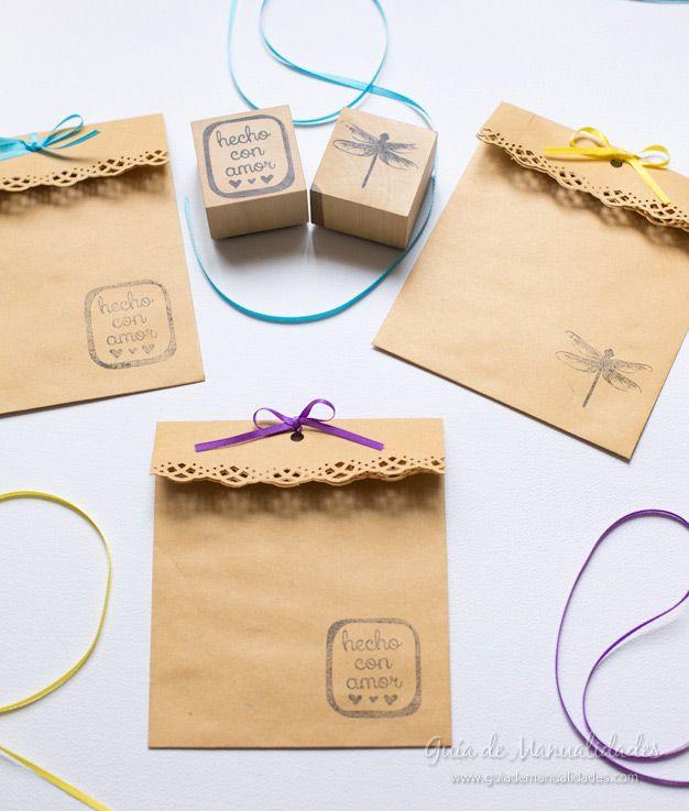 Sobres personalizados para sorpresas e invitaciones