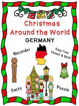"""*** FREE ***  Curriculum integration tool incorporating music, history and cultural traditions. Facts about Germany, singing a famous German Christmas carol, """"O Christmas Tree"""" and playing a recorder and/or Easy Tone Chimes & Bells arrangement.  Materials: • Teaching Suggestions • Fact Sheet • Song Sheet: O Christmas Tree • Music for Recorder • Music & Instructions for Tone Chimes & Bells • Word Find Puzzle (includes Answer Key)  This product uses a """"non-music reading"""" approach"""