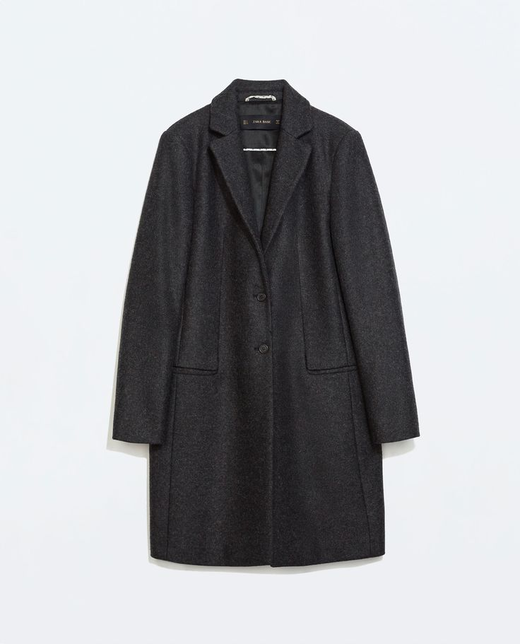 1000  images about workwear coats on Pinterest | Wool Zara and Cotton