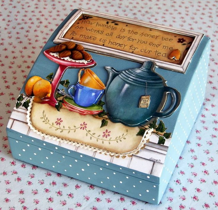 cute tea box