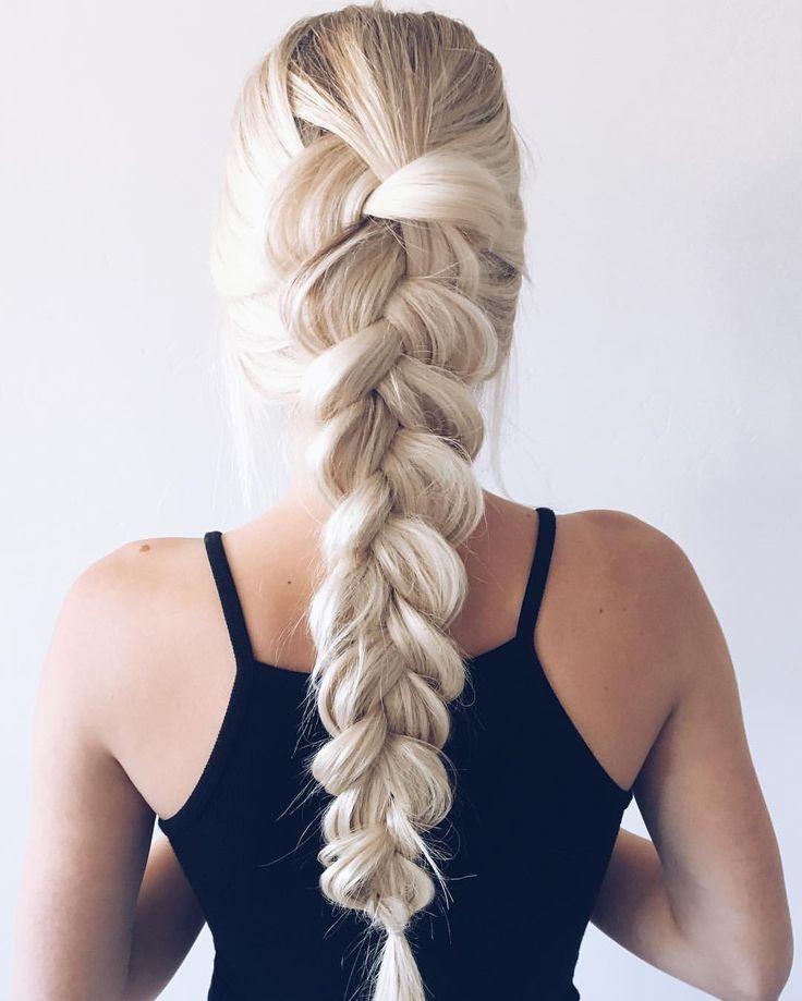 Hair Inspiration - Aspyn Ovard French Braid Simple yet beautiful