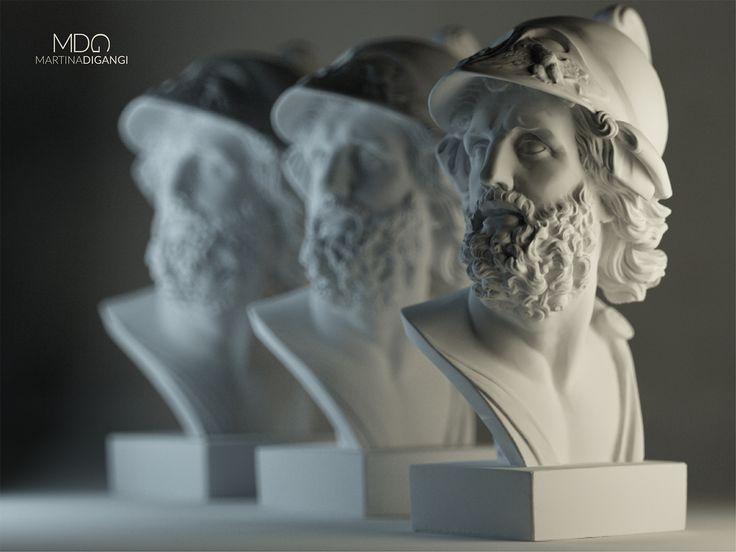 #studioshot #statue - Rendering: Cinema 4D