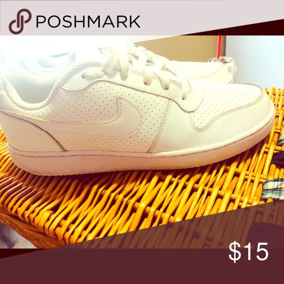 Air Force one Nice white Air Force ones. Wore only a few times still in new condition size 9.5 in men's Shoes Sneakers