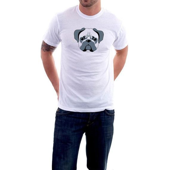 The popular #dog breed of the moment. Wear your very own #Pug on one of my fantastic 100% cotton tees. Long-lasting print on 185 gsm Gildan , Regular Cut Premium Tee, or a  G... #animals #pug #pets #canine #pooch #cute #ladies ➡️ http://etsy.me/2ffcBLl