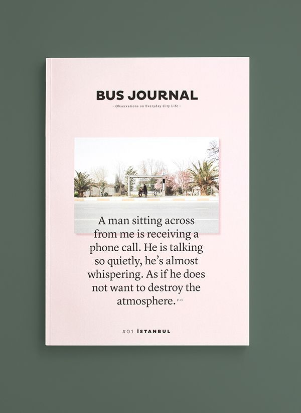 BUS JOURNAL on Editorial Design Served