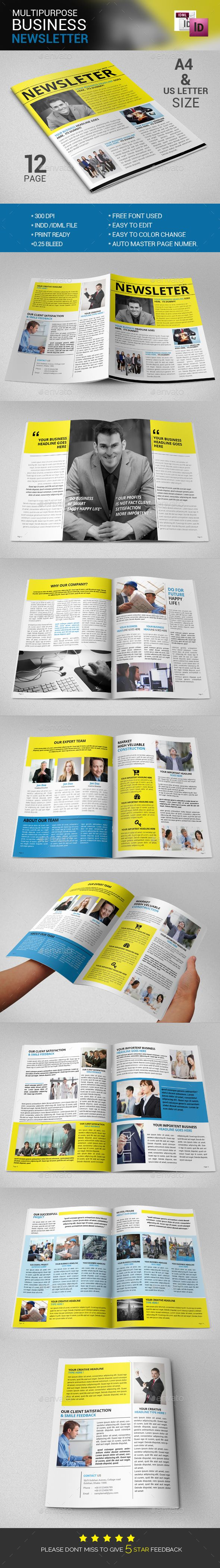 The Best Newsletter Print Templates Files Images On Pinterest - Print newsletter templates