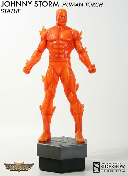 Sideshow Collectibles - Johnny Storm: Human Torch Polystone Statue