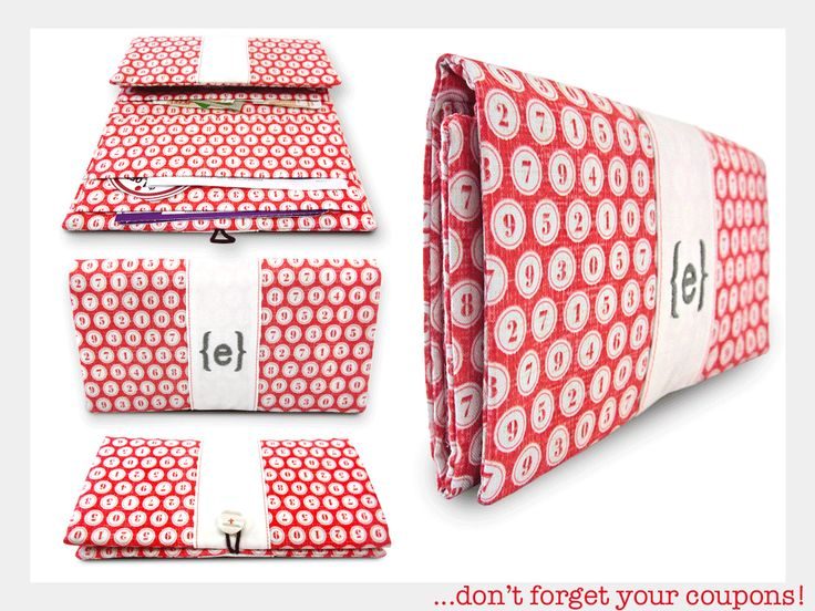 Coupon Clipper Wallet   Sew4Home