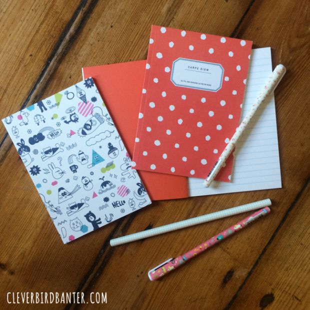 Pretty stationery from CityGirl Searching