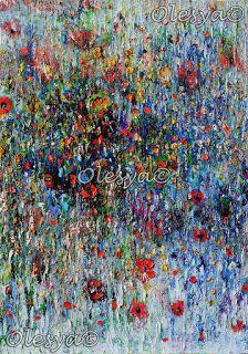 "Olesya Hudyma Gallery - ""Garden"" - 70x50 cm"