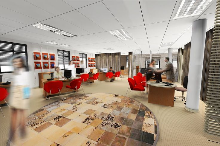 736 490 shop for Agency interior design ideas