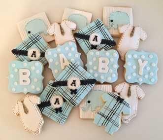 ciasteczka na baby shower