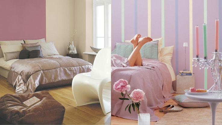 Je hoeft geen grote bedragen uit te geven aan designmeubels om een slaapkamerinterieur in boutique-hotelstijl te creëren. Een likje verf tovert je slaapkamer om in een aangename plek met glamouruitstraling.