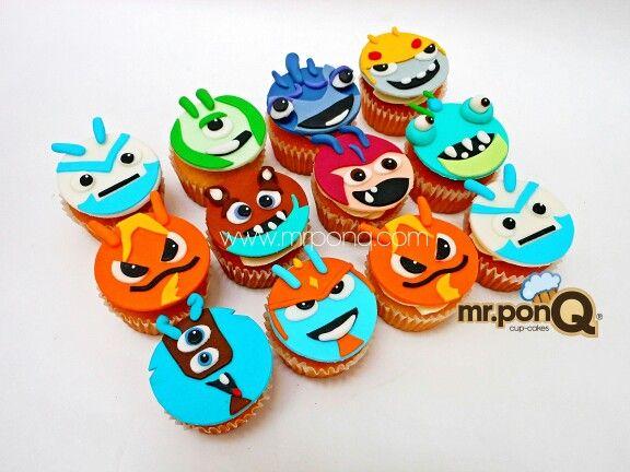 Cup-cakes bajo terra.mr.ponQ