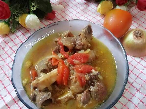 Resep Sayur Marak Kambing Oleh Rahma Bule Resep Resep Ide Makanan Makanan