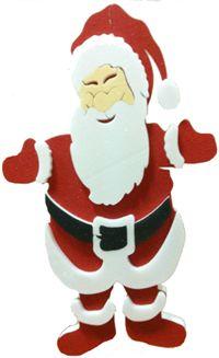 Noel Baba Dekor, Strafor Parti Dekorasyonu - Duvar/Cam/Zemin Dekorları Yükseklik 48cm, en 30cm, kalınlık 2cm kaliteli strafordan üretilmiştir. 3 boyutlu kısımlarında kalınlık 7cm'dir. Pırıltılı boyalıdır. Duvara, kapıya, cama çift taraflı bant ile asılabilir. Yılbaşı partilerinde ideal parti dekorudur