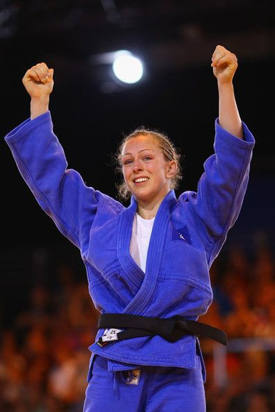 Team GB's judo star, Sally Conway.