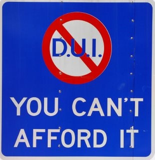 DUI - You can't afford it.