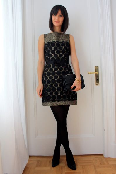 Daily Outfit Idea: A New Year's Eve Party Dress You Can Wear All Year 'Round: Dressed