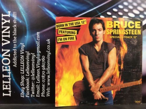 "Bruce Springsteen I'm On Fire 12"" Single Vinyl TA6342 A2/B1 Rock 80's Music:Records:12'' Singles:Rock:Classic"