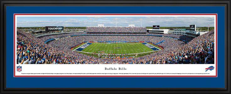 Buffalo Bills - Ralph Wilson Stadium Panoramic Picture Framed