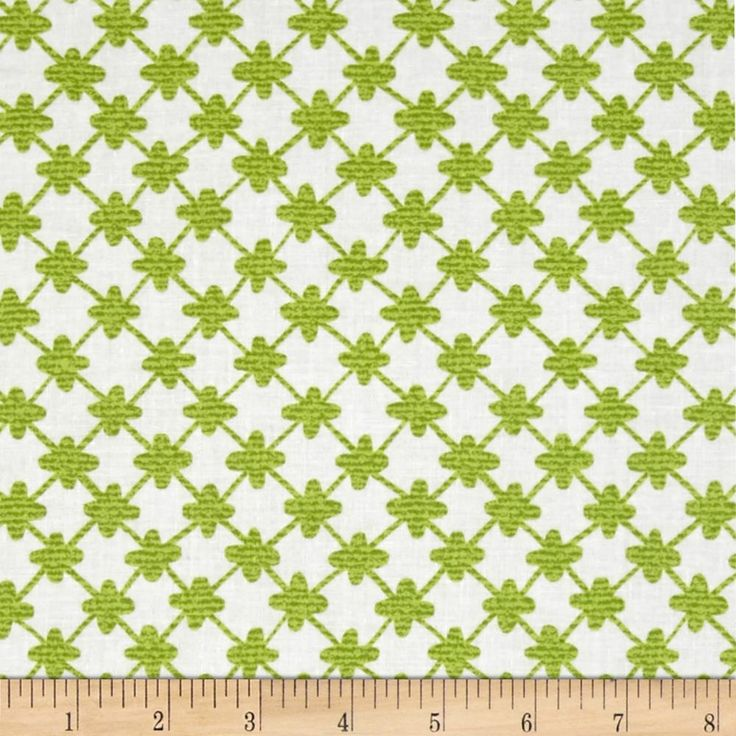 Designed for michael miller fabrics this fabric is perfect for quilting craft projects apparel and home decor accents colors include green and white