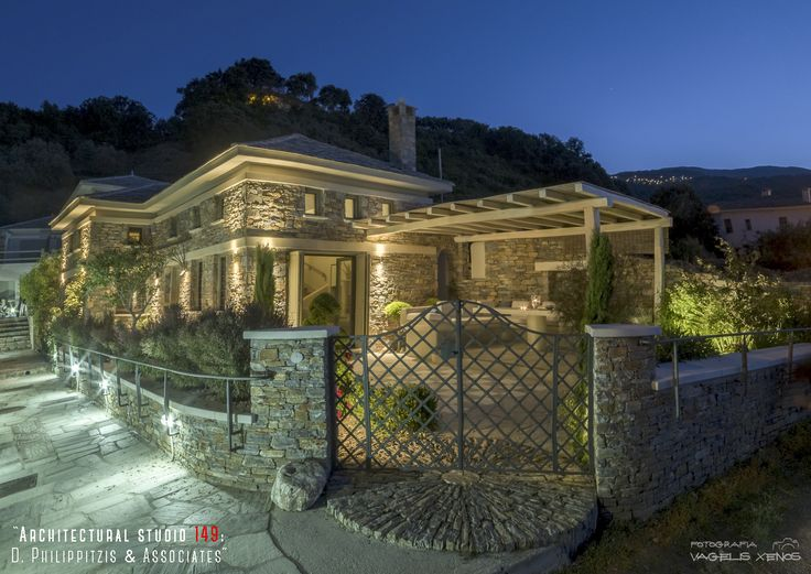 Sunrise Sea Villa: Luxury Villa for rent at Chorefto, Pelion | visit us at: www.philippitzis.gr
