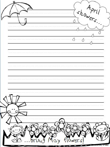 march writing paper Are you looking for some creative and fun st patrick's day teaching resources for march paper in classrooms to recycle, or writing about and march writing.