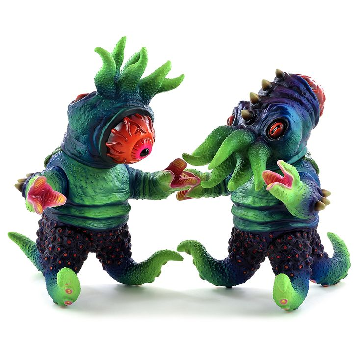"""Shifty Toys x Max Toy Co. - """"Abyss"""" Kaiju TriPus micro run!!!"""