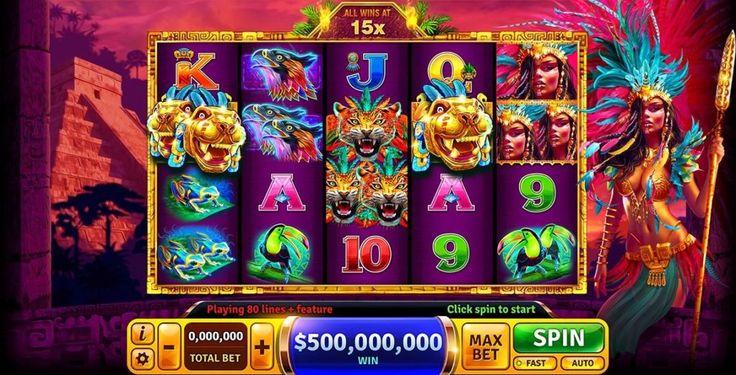 Aztec Chieftess - Slot Machine at HOF