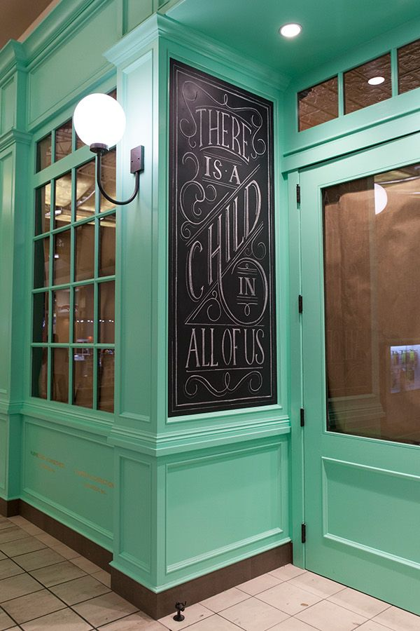 Lolli and Pops, Purveyors of Sweetness. Candy store design. #chalk #lettering #design