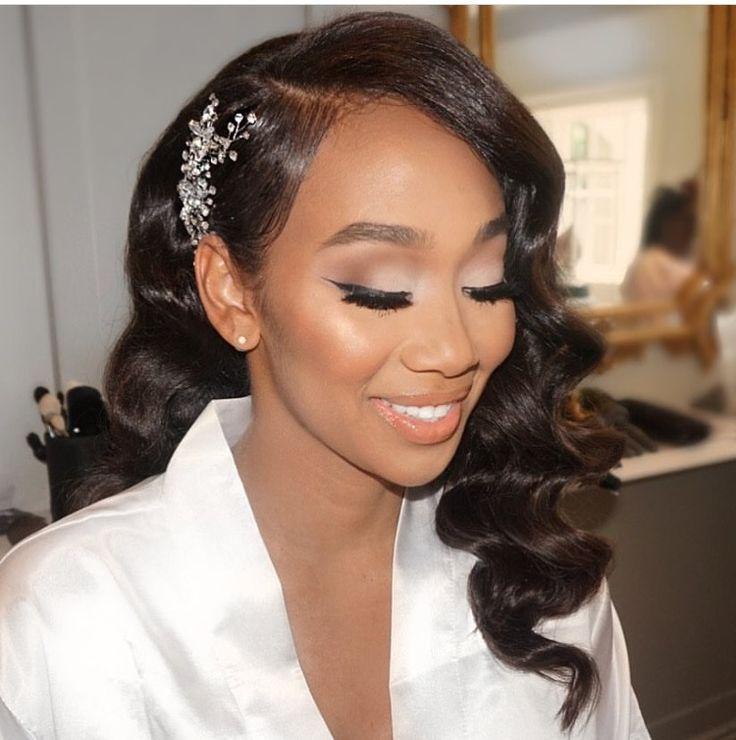 Untitled Black Brides Hairstyles Bridal Hair And Makeup Wedding Hair And Makeup