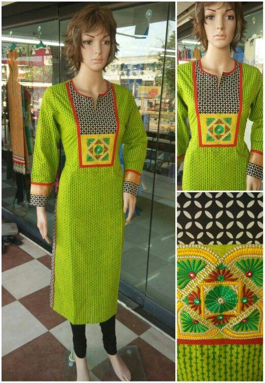 Cotton long kurty Price: 995 Size : M L XL XXL Watsapp no:9879362999