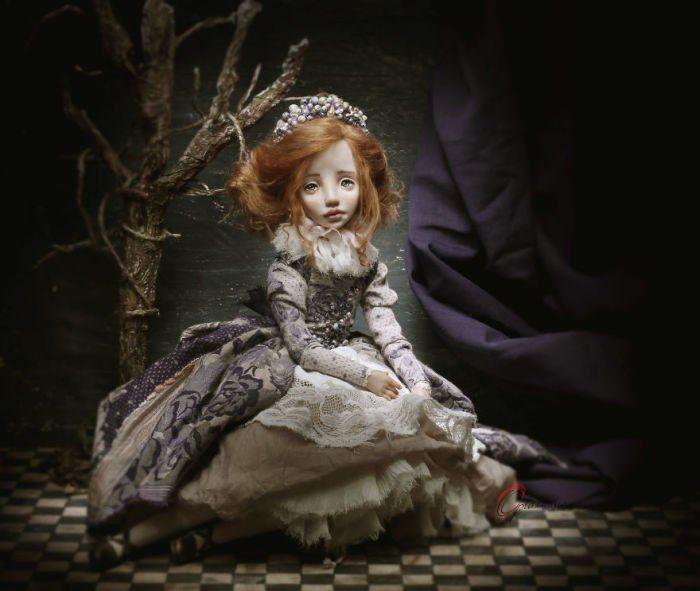 Очаровательные куклы украинской мастерицы Елены Опланской..