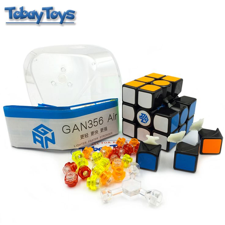 GAN 356 Air Magic Cube Speed Record Puzzle Toy Cube Professional Competition Classic Cubo De Rubik Toys Cube For Children Gift