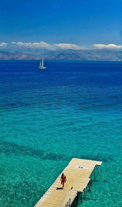#Corfu , Greece