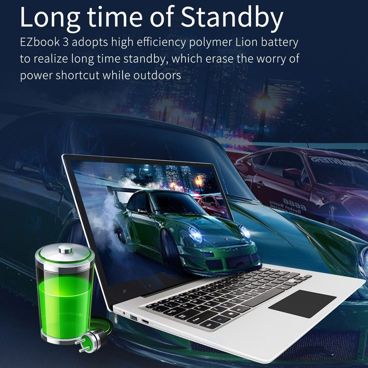 Only US$238.99, silver us Jumper EZbook 3 Ultra-thin Laptop 14.1inch FHD Screen Windows - Tomtop.com