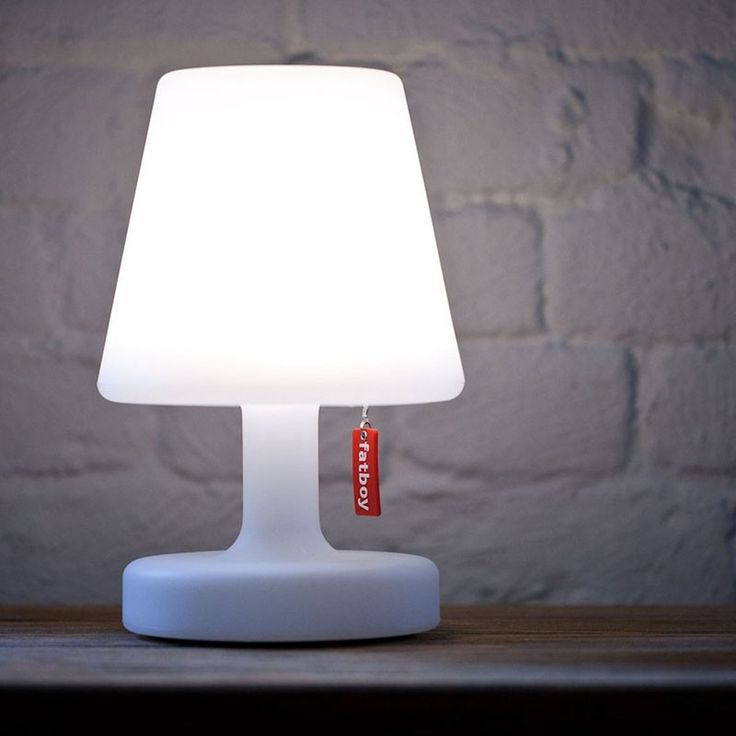 Outdoor, rechargeable lamp. BOUF.com