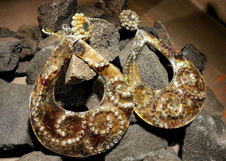 Gold Earrings...
