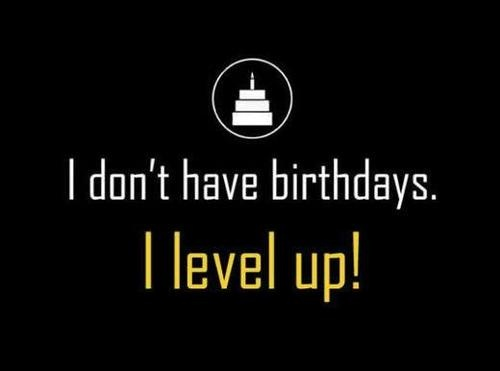 Yes! I will always and forever look at my birthdays this way