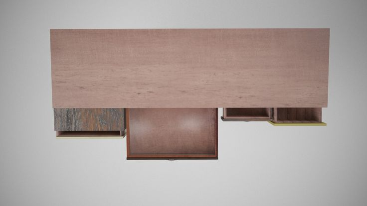 3D - Modelling OLD Chest of drawers