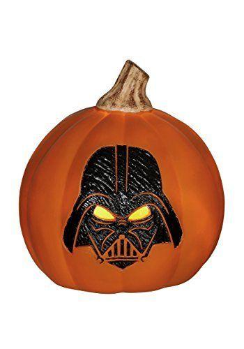 Star Wars Darth Vader LightUp Orange Pumpkin  ST -- You can find out more details at the link of the image.