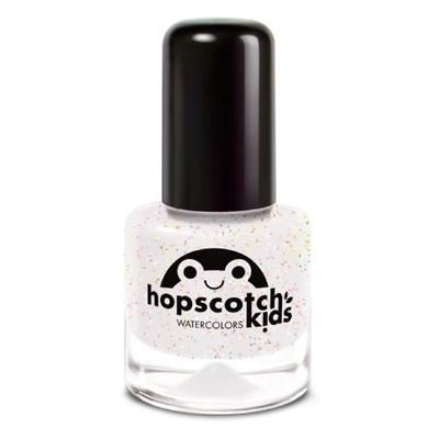 Hopscotch Kids Watercolors Top Coat med glimmer - 7 ml.