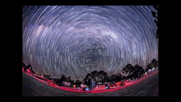"Photographer Alan Dyer shot this impressive footage of the Southern Hemisphere sky in Coonabarabran, Australia over a four-night period. The video demonstrates how the sky moves ""down under,"" in directions opposite to what Northern Hemisphere residents are accustomed to. The Stars still rise in the east and set in the west, but they move at an angle to the left and set at an angle to the right. Credit: YouTube/AmazingSky"