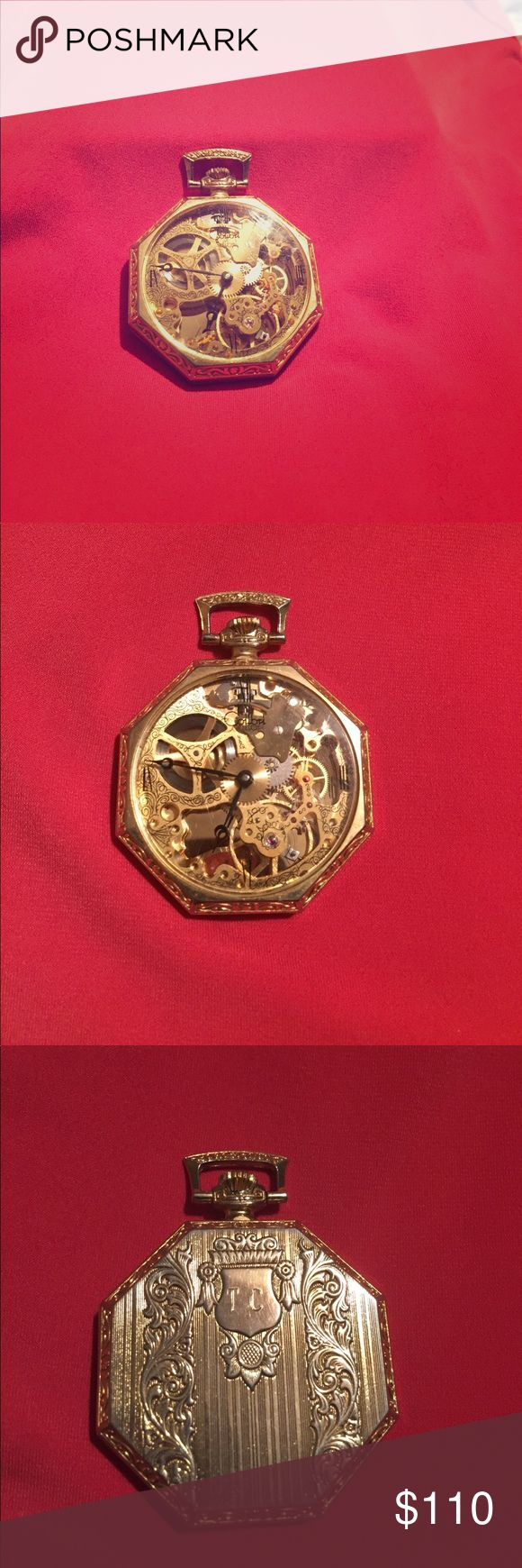 Colibri Pocket Watch In great working condition, engraved on back but could be removed. Colibri Other
