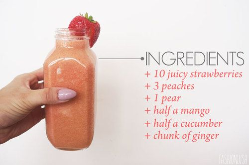 Smoothie or juice!