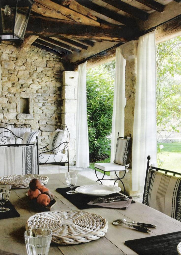Stone Porch Steps: 78 Best Ideas About Stone Porches On Pinterest