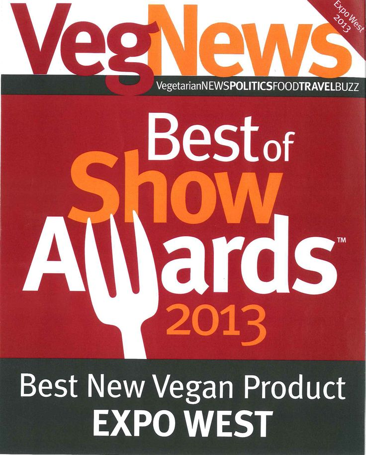 Natural Product Expo-West 2013  Pacifica won Best of Show for Best New Vegan Products!