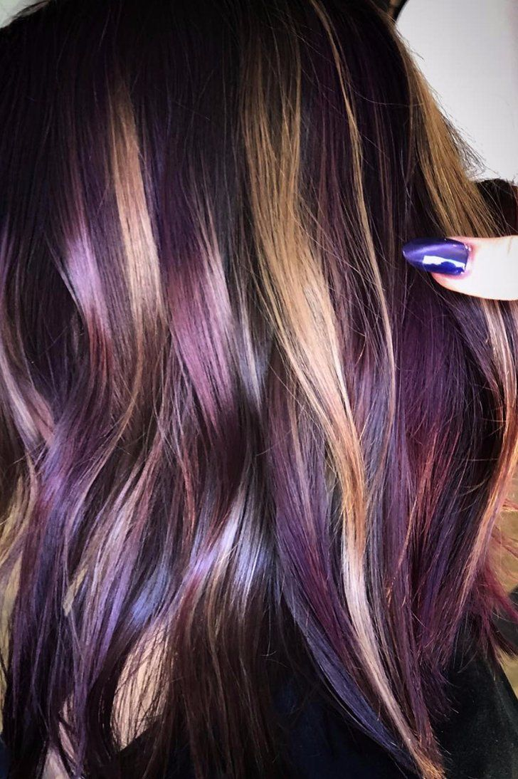 PB Amp J Hair Is The Newest Color Trend Taking Over