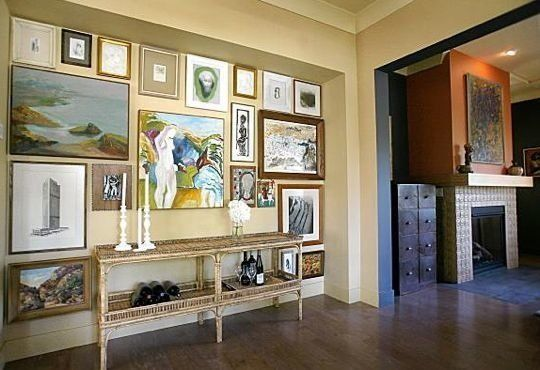 The Art of Hanging Art on Your Walls — S.F. Chronicle: 08.06.08 | Apartment Therapy